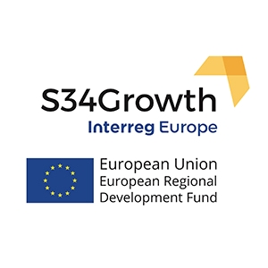 S34Growth Interreg Europe logo