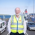 Alan Gordon from Stenaline at Stenaline Loch Ryan Port, Belfast Way, Cairnryan