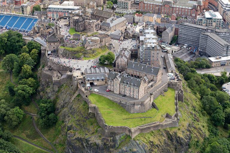 Edinburgh Castle attracted record visitor numbers in 2017, bringing more than two million people through its doors.