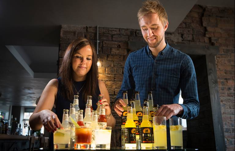 The Start-Up Drinks Lab - Hannah Fisher and Craig Strachan