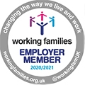 Working families employer member 2020/2021