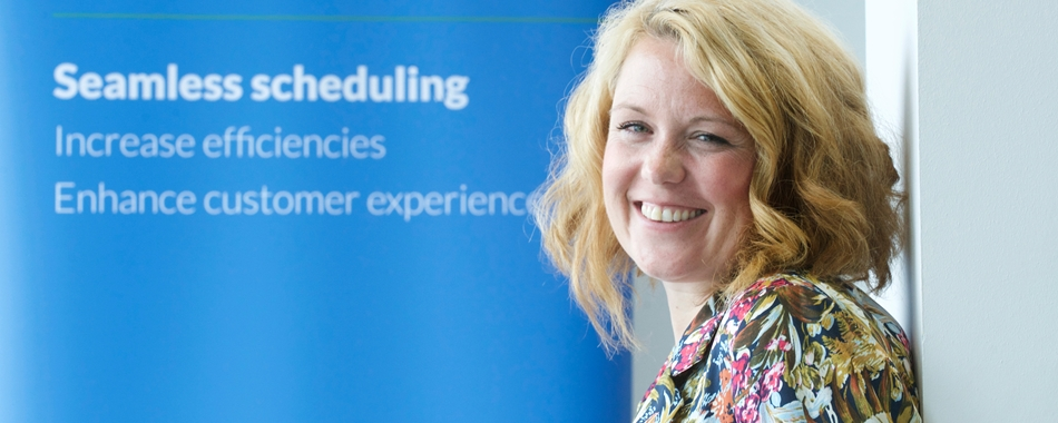 Leah Hutcheon from Appointedd at the Edinburgh office