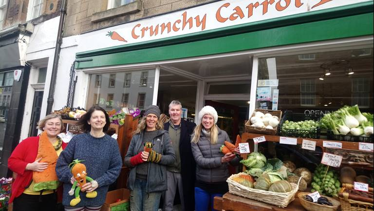 Crunchy Carrot community co-operative