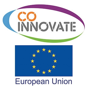 Co Innovate Logo and European Union Logo