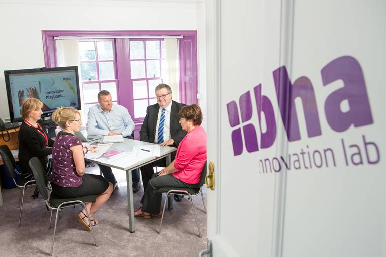 Berwickshire Housing Association's Innovation Lab