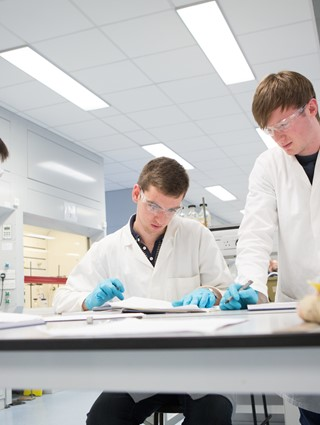 Life sciences students, Glasgow University
