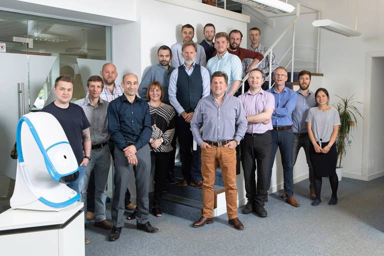 Directors and staff of i4 Product Design at their Edinburgh headquarters.